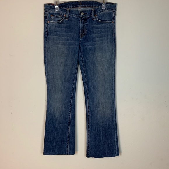 7 For All Mankind Denim - 7 For All Mankind- Bootcut Jeans size 30